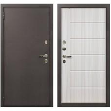 Входная металлическая дверь Лекс 1А Медный Антик (№42 Сандал Белый)