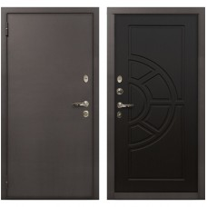 Входная металлическая дверь Лекс 1А Медный Антик (№43 Венге)