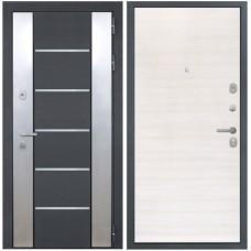 Входная металлическая дверь Интекрон Вельс (Дуб сильвер)