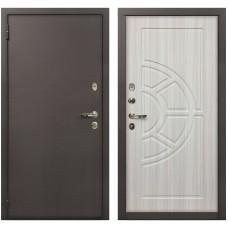 Входная металлическая дверь Лекс 1А Медный Антик (№44 Сандал белый)