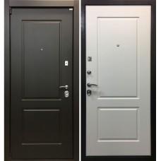 Входная металлическая дверь Ратибор Барьер 3К (Белый ясень)