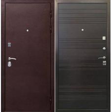 Входная металлическая дверь Ратибор Вектор (Венге поперечный)