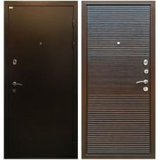 Входная металлическая дверь Ратибор Горизонт (ЭкоВенге)