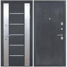 Входная металлическая дверь Интекрон Вельс (Черный скол дуба)