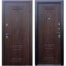 Входная металлическая дверь Персона Техно 3 (Орех грецкий)