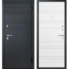 Входная металлическая дверь Персона ТехноЛюкс (Белый софт)