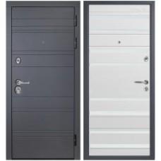 Входная металлическая дверь Персона ТехноЛюкс Стайл (Белый софт)