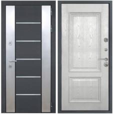 Входная металлическая дверь Интекрон Вельс Валентия 4 (Жемчужный ясень)