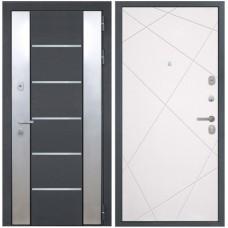Входная металлическая дверь Интекрон Вельс Лучи-М (Софт милк)