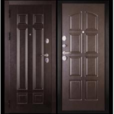Входная металлическая дверь Сударь 2 (Венге/венге)