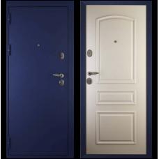 Входная металлическая дверь Сударь 3 (Синий бархат/ясень белый)