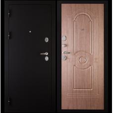 Входная металлическая дверь Сударь 3 (Черный бархат/венге коричневый)
