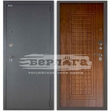 Входная Металлическая Дверь Берлога 3К Альма (рустикальный дуб)