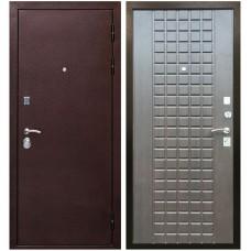 Входная металлическая дверь Ратибор Квадро 3К (Венге тангент)