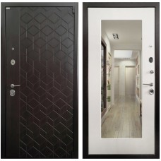 Входная металлическая дверь Ратибор Квант 3К (Лиственница беж)