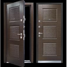 Входная металлическая дверь Mastino LINE 3 (Темный венге)