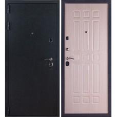 Входная металлическая дверь Лайт 3К (бархат/беленый дуб)