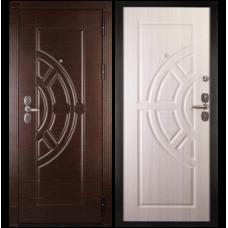 Входная металлическая дверь Сударь 8 (Венге/сандал белый)