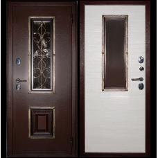 Входная металлическая дверь Сударь К-04 (Клен канадский светлый)