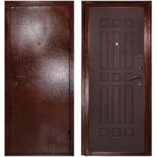 Входная металлическая дверь Сударь МД-04 (Антик медь/венге)