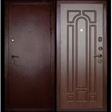Входная металлическая дверь Сударь МД-04 (Антик медь/орех тисненый)