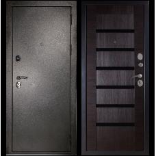 Входная металлическая дверь Сударь МД-05 (Антик серебро/орех темный)