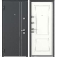 Входная металлическая дверь Мastino Terra (Белый софт)