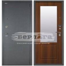 Входная Металлическая Дверь Берлога 3К Гала (рустикальный дуб) с зеркалом