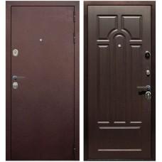 Входная металлическая дверь Голиаф Персей (Антик медь/венге ФЛ-32)