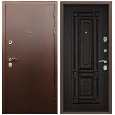 Входная металлическая дверь Голиаф Персей (Антик медь/венге)