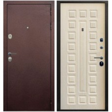 Входная металлическая дверь Голиаф Персей (Антик медь/дуб беленый ФЛ-20)