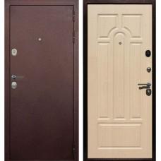 Входная металлическая дверь Голиаф Персей (Антик медь/дуб беленый ФЛ-25)