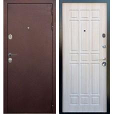 Входная металлическая дверь Голиаф Персей (Антик медь/дуб беленый ФЛ-28)