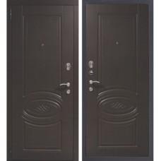 Входная металлическая дверь Старж Супер Триумф Орех патина премиум