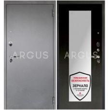 Входная металлическая дверь Аргус 1_Люкс Про Милли венге/Серебро антик