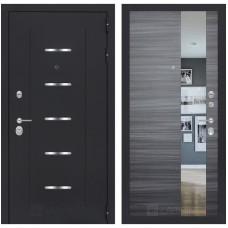 Входная металлическая дверь Лабиринт ALFA (Сандал серый горизонтальный)
