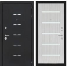 Входная металлическая дверь Лабиринт ALFA 01 (Сандал белый)
