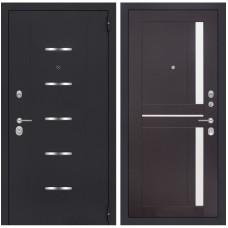 Входная металлическая дверь Лабиринт ALFA 02 (Венге)