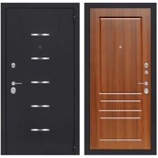 Входная металлическая дверь Лабиринт ALFA 03 (Орех бренди)
