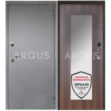 Входная металлическая дверь Аргус 1_Люкс Про Милли коньяк калифорния/Серебро антик