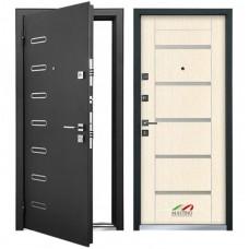 Входная металлическая дверь MASTINO PONTE (Черный шелк / Дуб беленый)