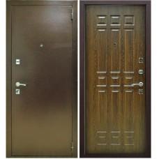 Входная металлическая дверь Снедо Кантри (Дуб коньяк)
