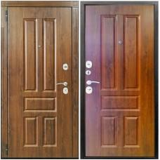 Входная металлическая дверь Снедо Канцлер 2К Винорит (Грецкий орех)