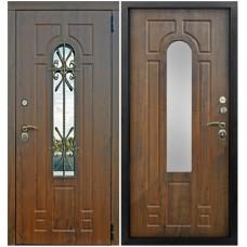Входная металлическая дверь Снедо Лацио Винорит (Грецкий орех)