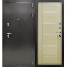 Входная металлическая дверь Снедо Люкс РФ 3К (Лиственница белёная)