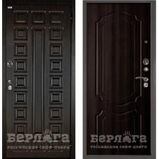 Входная Металлическая Дверь Берлога Оптима 2П Сенатор (венге/Мишель венге)