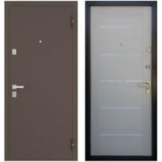 Входная металлическая дверь Бульдорс 13 Р new (Дуб беленый)