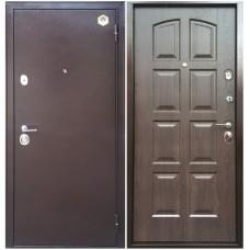 Входная металлическая дверь Бульдорс 24 (Дуб шоколад)