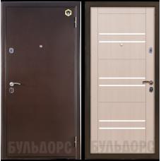 Входная металлическая дверь Бульдорс 33 (Шамбори светлый)