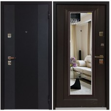 Входная металлическая дверь Бульдорс 44 T NEW (Ларче темный)